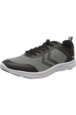 Hummel Unisex-Erwachsene Kiel Sneaker, Black/Grey Melange