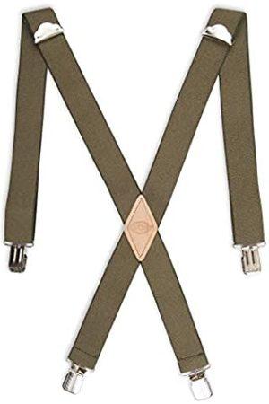 Dickies Herren Hosenträger mit geradem Clip, 3,8 cm, verstellbar