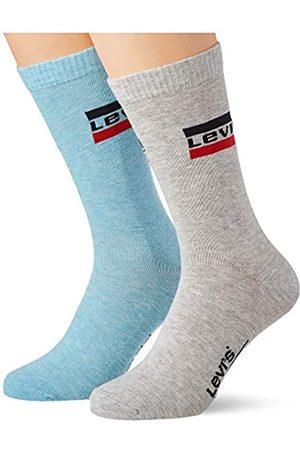 Levi's Unisex Regular Cut Sportswear Logo Socken, / Melange