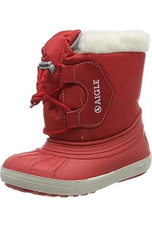 Aigle Aigle Unisex-Kinder Nervei Junior Schneestiefel, Rot (Rouge 001)