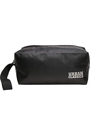 Urban classics Recycled Ribstop Cosmetic Bag, Black