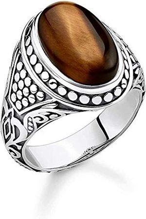 Thomas Sabo Thomas Sabo Unisex-Ring 925er Sterlingsilber geschwärzt TR2241-826-2-62