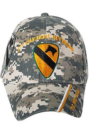 Artisan Owl Herren Caps - Offiziell lizenzierte 1st Cavalry Division bestickte Camo Baseball Cap