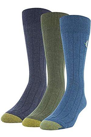 Gold Toe Mens Hampton 3 Pack Crew Socks