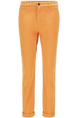 HUGO BOSS BOSS Damen C Tachini-D Regular-Fit Chino aus elastischer Bio-Baumwolle