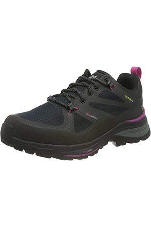 Jack Wolfskin Damen Force Striker Texapore Low Walking-Schuh, Phantom/Pink