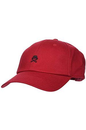 Cayler & Sons Herren Caps - Cayler & Sons Unisex-Adult Herren Snapback Caps PA Small Icon Curved rot Verstellbar Cap