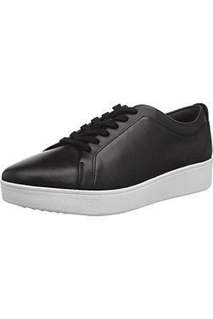 FitFlop Damen Rally Slip On Sneaker, (Black 001)