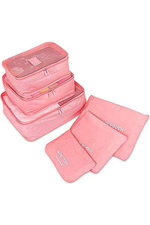 PHABULS Reisetaschen - Reisetaschen-Organizer-Set, Gepäcktaschen, Organizer, niedliche Packwürfel
