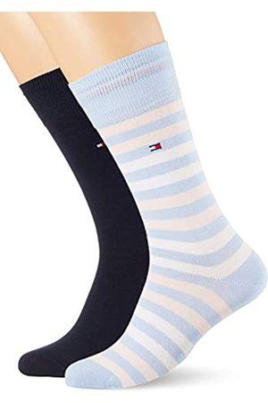 Tommy Hilfiger Mens Duo Stripe Men's (2 Pack) Socks