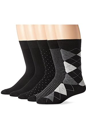 Amazon Dress-socks, Assorted Black
