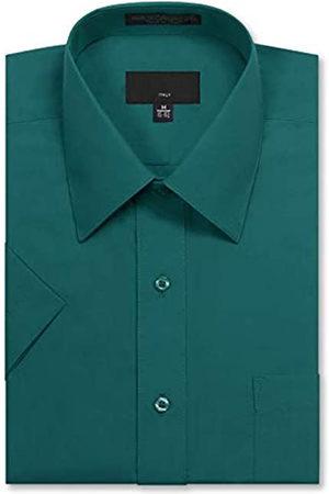 Allsense Herren-Kurzarm-Hemd, normale Passform