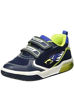 Geox Geox Baby-Jungen J INEK Boy B Sneaker, Navy/Lime