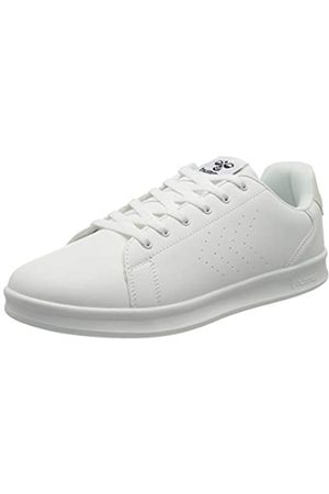 Hummel Unisex-Erwachsene BUSAN Sneaker, White/Marshmallow