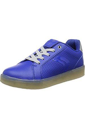 Geox Geox Jungen J KOMMODOR Boy B Sneaker, Blau (Royal/Silver)