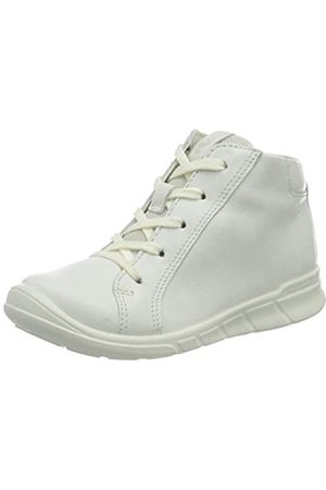 Ecco ECCO Baby-Jungen First Ankle Boot, Weiß(White)