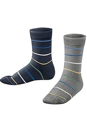 Esprit Unisex Kinder Colorful Stripes 2-Pack K SO Socken