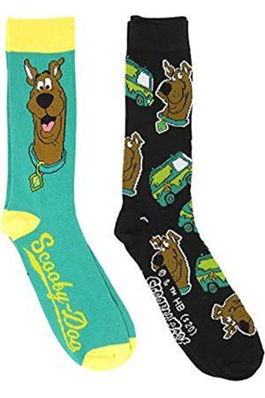 HYP Scooby Doo Herren Socken mit Gesicht und Logos, lizenziert