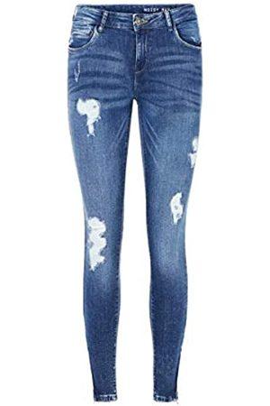 Noisy May Damen Nmkimmy Nw Ankle Zip Az003mb Noos Skinny Jeans
