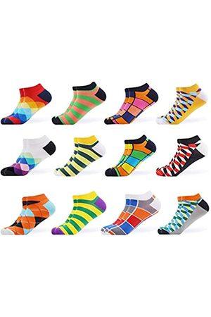 WeciBor Herren-Socken aus gekämmter Baumwolle - - Large