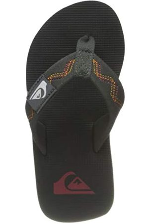 Quiksilver Quiksilver Molokai STITCHY Youth Flip-Flop, Black/Grey/Yellow