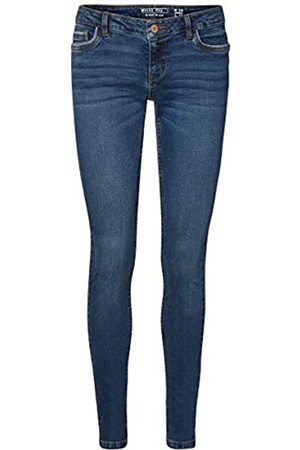 Noisy May Noisy may Female Skinny Fit Jeans NMEVE Low Waist 2730Dark Blue Denim