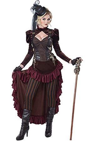 California Costumes Damen Anzüge - Viktorianisches Steampunk-Kostüm für Damen - - Large