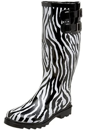 Chooka Damen Zebra Dual Buckle, Mehrere (Multi)