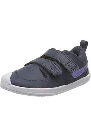 Nike Nike Jungen Unisex Kinder Pico 5 Tennis Shoe, Thunder Blue/Purple Pulse-Light Dew-Fireberry