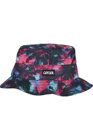 Cayler & Sons Herren Caps - Unisex Baseball Kappe C&S WL Drop Top Trees Reversible Bucket Hat Baseballkappe