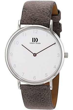 Danish Design Danish Design Damen Analog Quarz Uhr mit Leder Armband 3324598