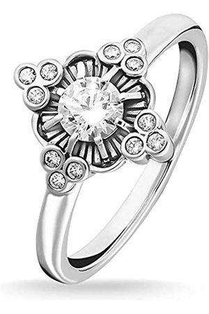 Thomas Sabo Thomas Sabo -Ringe 925_Sterling_Silber zirkonia Ringgröße 58 TR2221-643-14-58