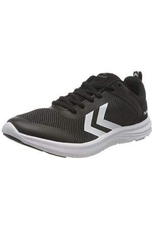 Hummel Unisex-Erwachsene Kiel Sneaker, Black/White