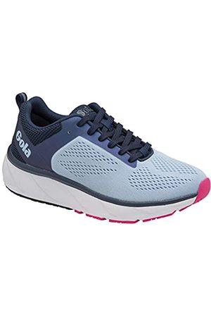 Gola Damen Ultra Speed Road Running Shoe, Vista Blue/Navy/Pink