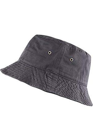 The Hat Depot Herren Hüte - 300N Unisex Sonnenhut, 100 % Baumwolle, verstaubar, für Sommer, Reisen, Strand