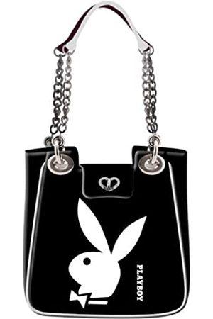 Playboy Playboy Turnbeutel Weiß Schultertasche Style Schwarz 85419-PB