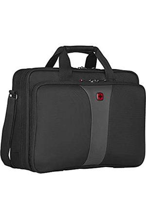Wenger Wenger Legacy Aktentasche, Laptoptasche zum Umhängen, Notebook bis 16 Zoll, 15 l, Damen Herren, Büro Business Uni Schule