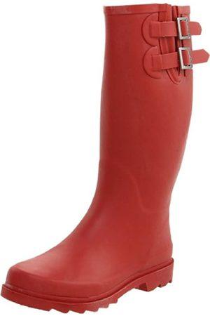 Chooka Damen 1011981 Regenstiefel, Rot (purpurrot)
