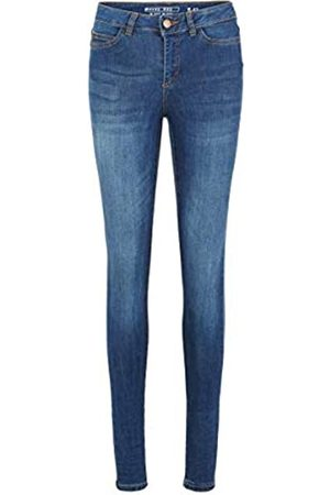 Noisy May Female Skinny Fit Jeans NMLUCY Normal Waist 2832Dark Blue Denim