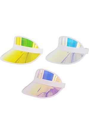 Surkat Herren Hüte - Kunststoff-Sonnenblende, UV-Schutz, Kopfbedeckung für Golf, Tennis
