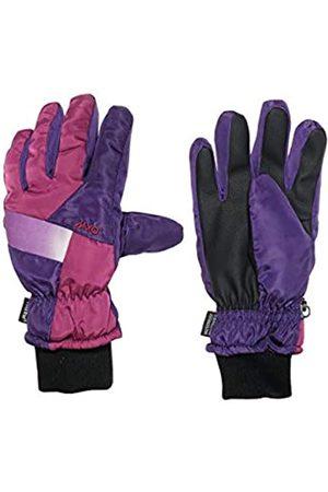 maximo Mädchen Fünffinger mit Strickbündchen Handschuhe