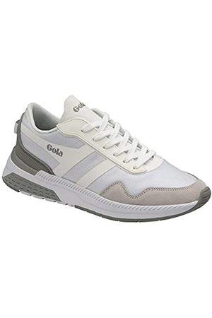 Gola Women's Atomics Road Running Shoe, White/Grey