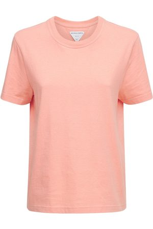 Bottega Veneta Damen Shirts - T-shirt Aus Leichtem Baumwolljersey