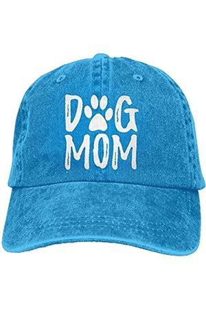 Splash Brothers Customized Splash Brothers Customized Unisex Hund Mama Vintage Jeans Verstellbare Baseballkappe Baumwolle Denim Dad Hat - Blau - Einheitsgröße