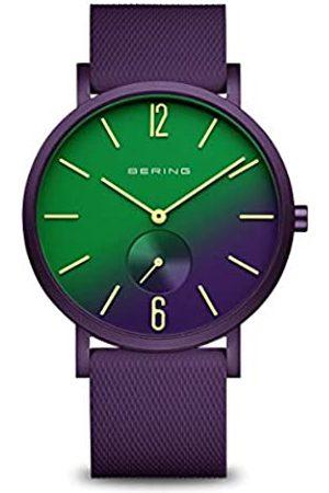 Bering BERING Unisex Analog Quartz Uhr mit Silikon Armband 16940-999