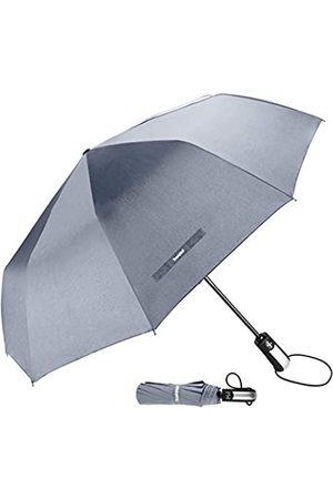 TradMall TradMall Reise-Regenschirm mit verstärkten Fiberglas-Rillen