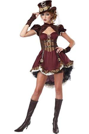 California Costumes Steampunk Mädchen Kostüm Damen - - Medium