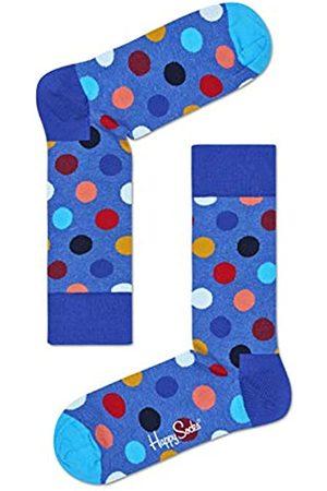 Happy Socks Bunt klassische Baumwolle Socken für Männer und Frauen, Blaue