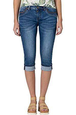 Timezone Damen Slim TaliTZ 3/4 Jeans-Shorts