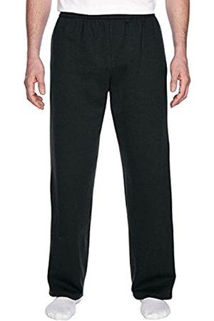 Fruit Of The Loom Herren Jogginghosen - Best Collection™ Men's Fleece Elastic Bottom Pant XXX-Large Black